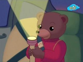 Приключения бурого медвежонка - 25.Бурый медвежонок проводит ночь у брата